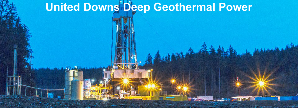Update on the United Downs Deep Geothermal Power project