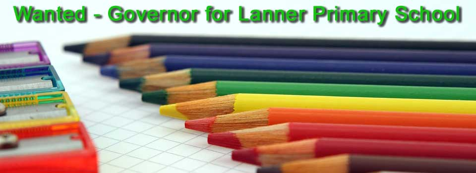 Wanted - Governor for Lanner Primary School